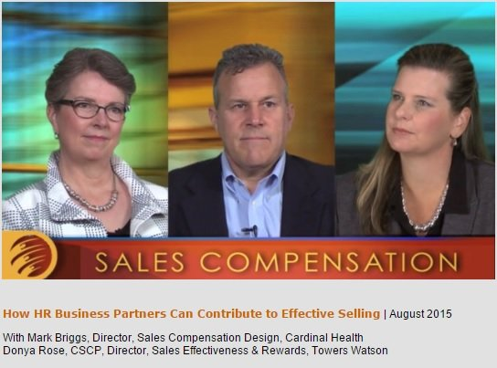 Video: The role of the HR Business Partner in Sales Comp